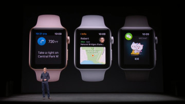 Apple unveils new Series 3 Watch with cellular capability
