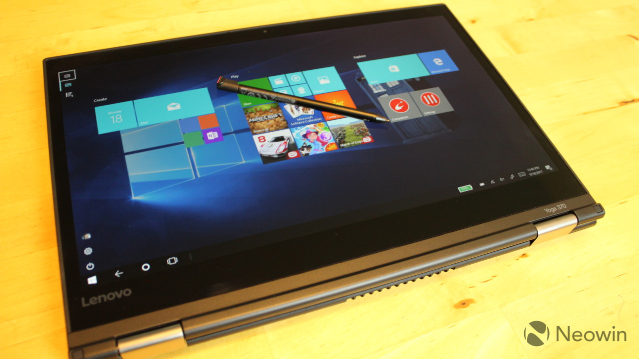 Lenovo ThinkPad Yoga 370 review: A miniature flagship - Neowin