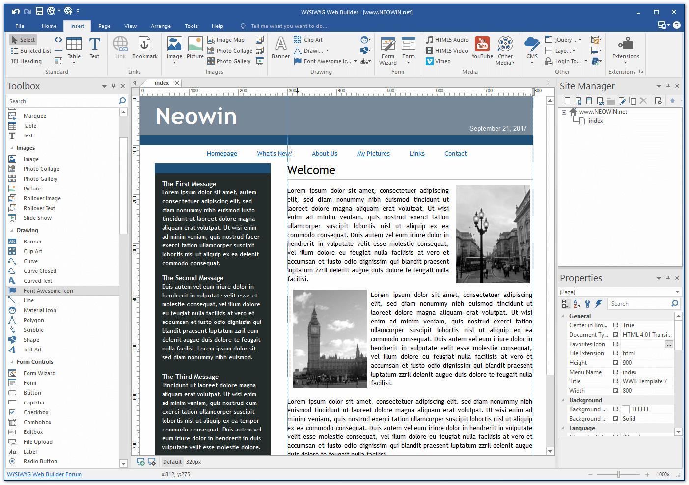 Wysiwyg Web Builder 122 Neowin
