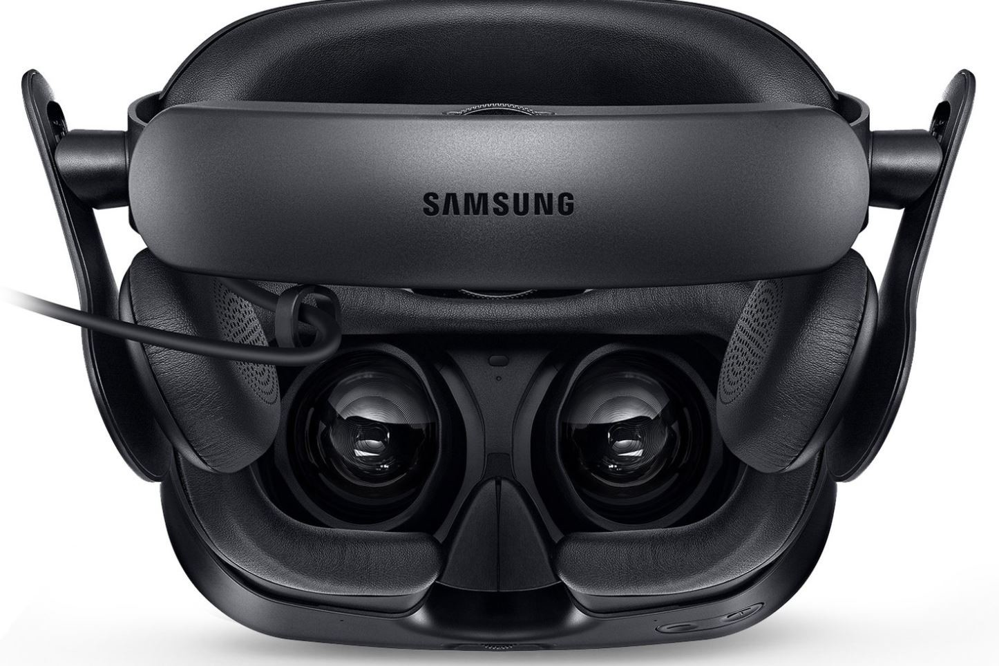 Samsung is working on a Windows Mixed Reality headset with built-in headphones