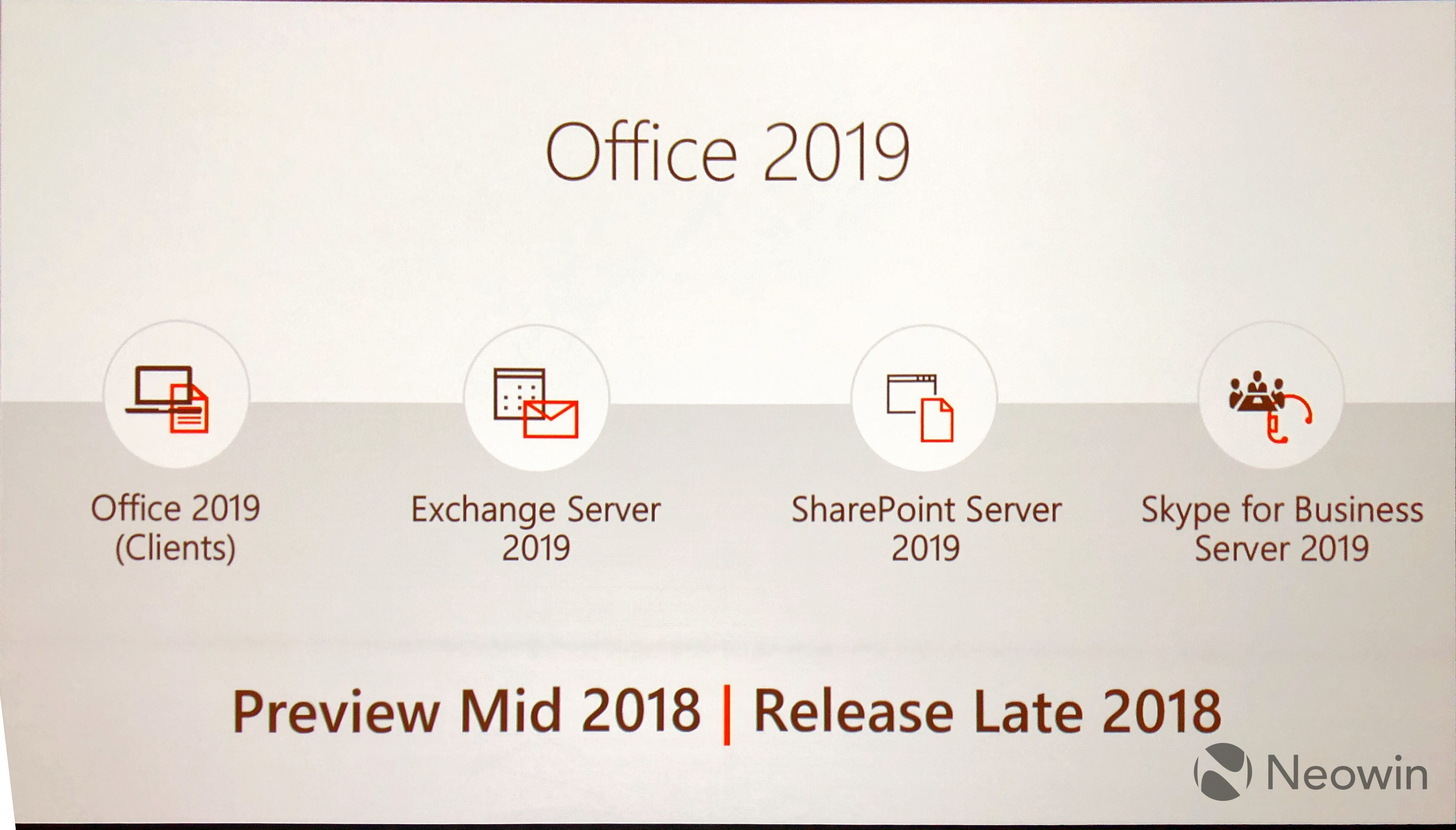 Microsoft announces Office 2019 at its Ignite conference