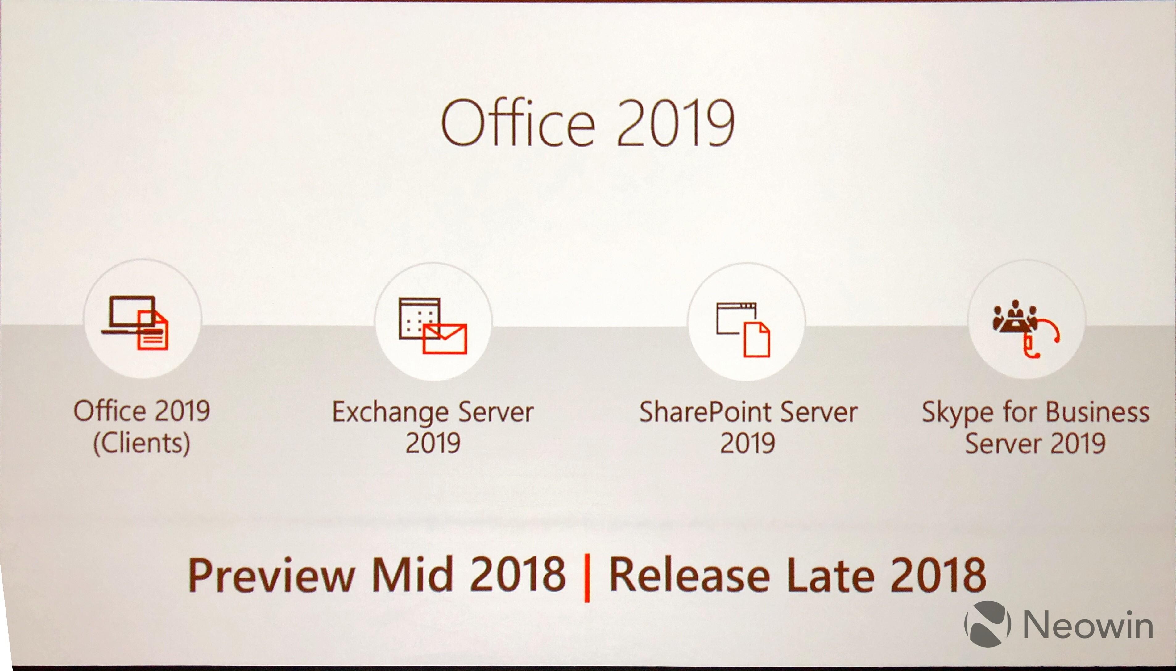 office 2018 vs office 365