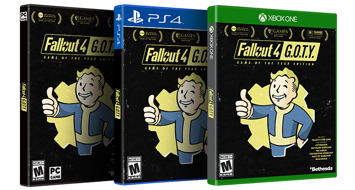 Fallout 4 Game Of The Year Edition Available Now