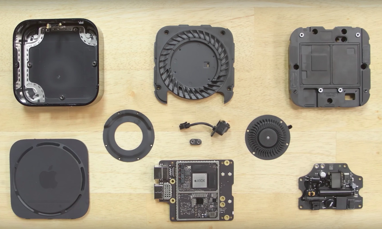 Apple TV 4K gets deconstructed, seems easy to repair - Neowin