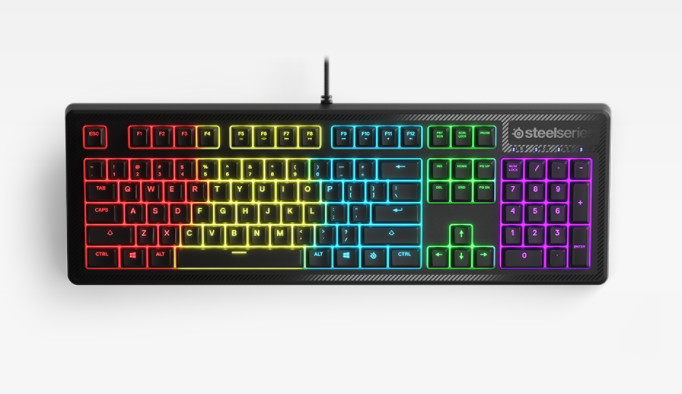SteelSeries releases an affordable spill-resistant keyboard