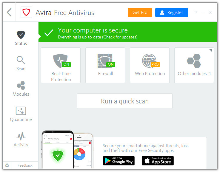 Avira Free Antivirus 15 0 1908 1579 - Neowin
