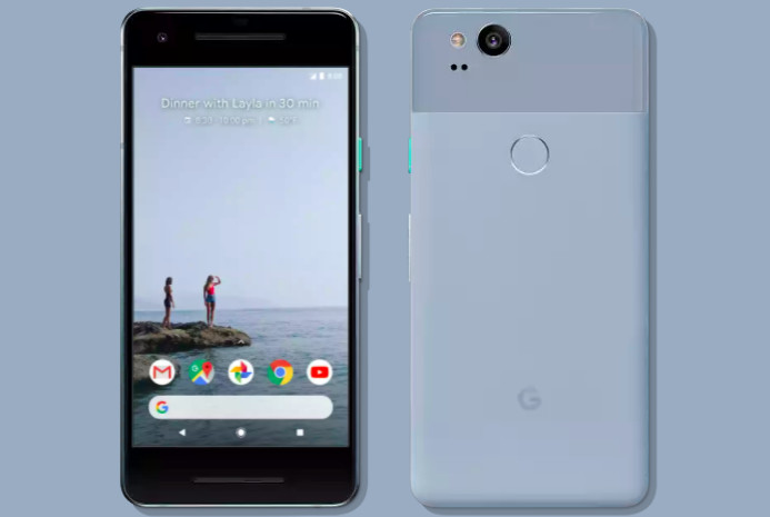 Google's unlimited original photo storage promo for Pixel 2