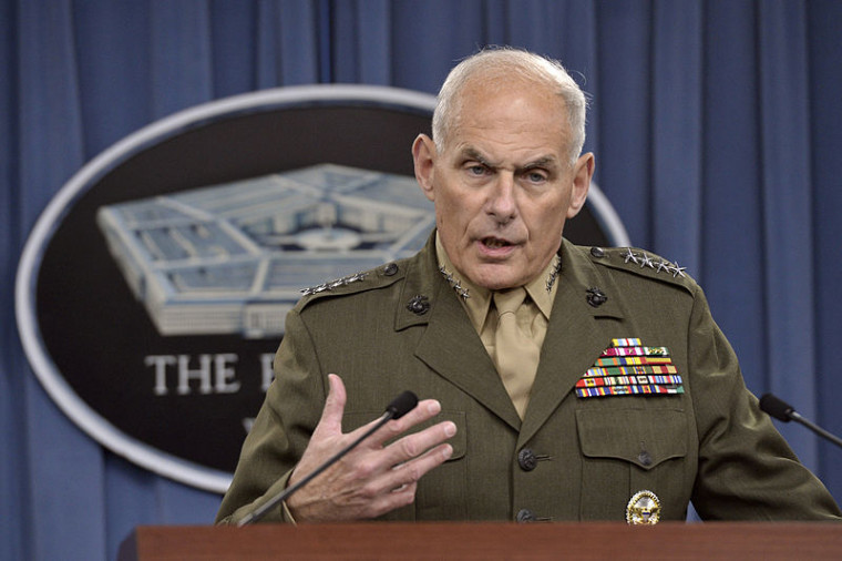 Chief of Staff John Kelly's Personal Cell Phone Compromised