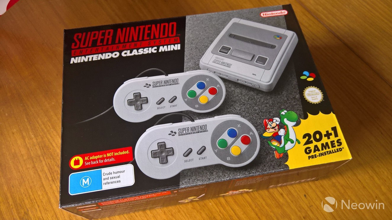 GameStop will have more SNES Classics this week