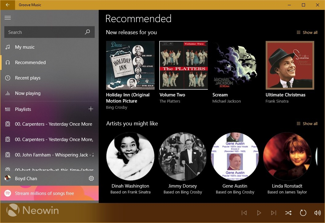 Spotify link now appearing in Groove Music app - Neowin