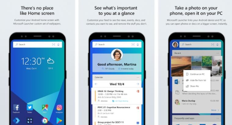Android users can now grab the rebranded Microsoft Launcher - Neowin