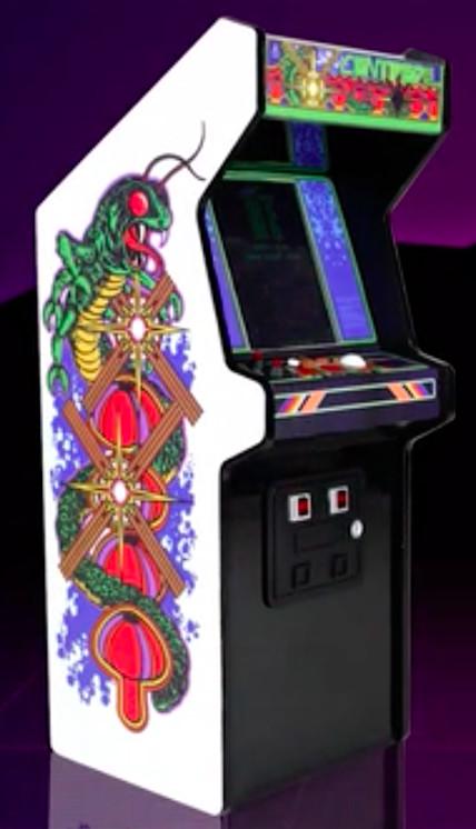 You can now order a reproduction Atari Centipede arcade cabinet ...