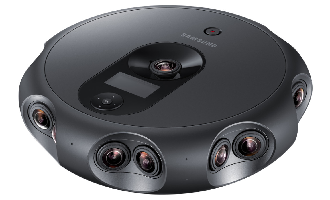 Samsung launches 360 Round VR camera with 17 lenses