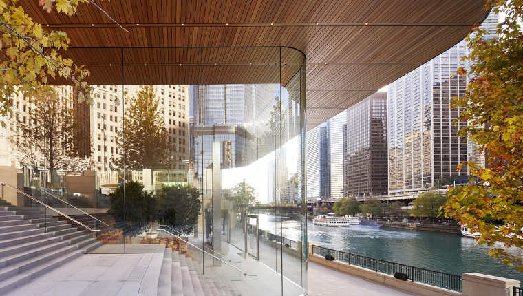 Apple 39 S Michigan Avenue Store Opens In Chicago Neowin