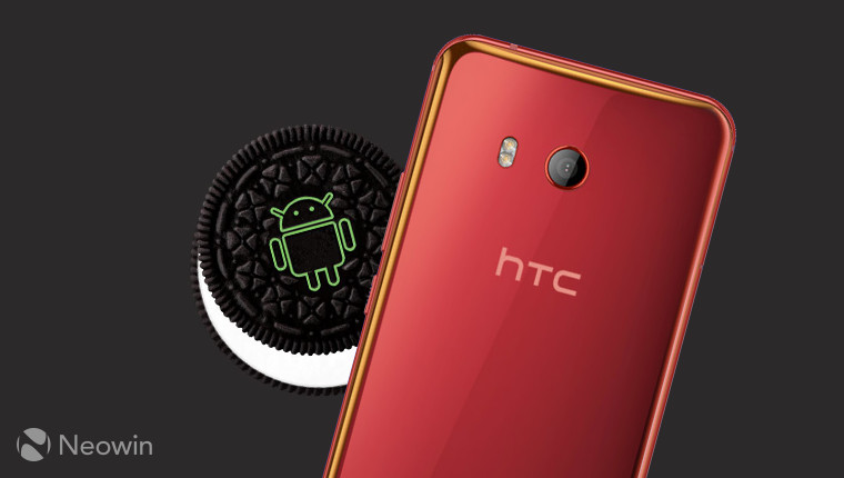 Unlocked HTC U11 units being served Android Oreo from today