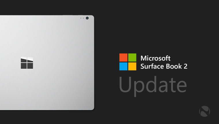 Surface Book 2 gets a huge list of firmware and driver