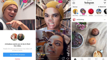 Snippets of Instagram Live Video