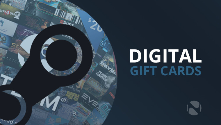 Steam now offering digital gift cards