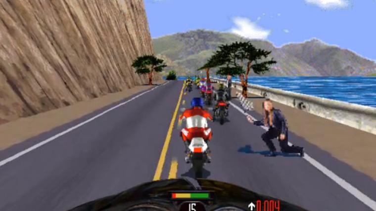 تحميل لعبة السباق الشهيرة Road Rash الجزء الأول بحجم خفيف