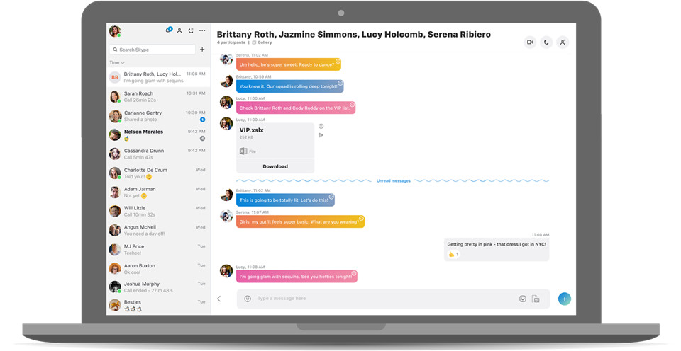 Skype's new mobile design comes to Windows and Mac today