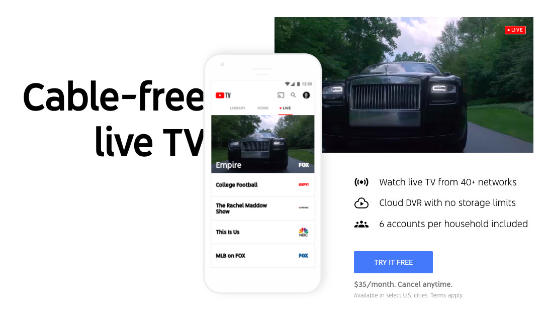 YouTube TV now lets customers pause their subscription - Neowin