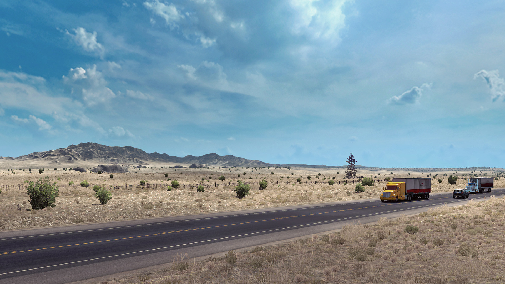 American Truck Simulator's New Mexico DLC hits the road next