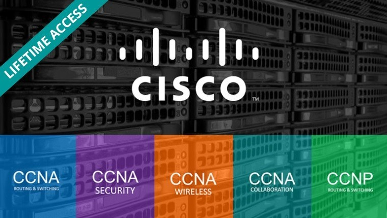 This Ultimate Cisco Networking Expert Certification Training Bundle