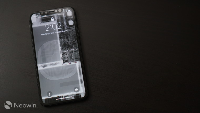 Give your iPhone X a raw look with teardown and Xray wallpapers  Neowin