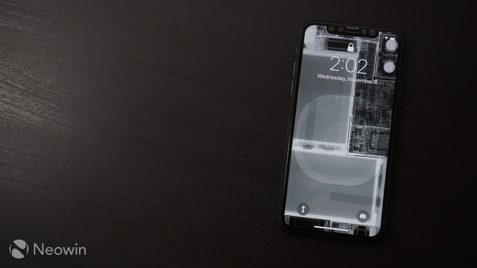 Give Your Iphone X A Raw Look With Teardown And X Ray Wallpapers