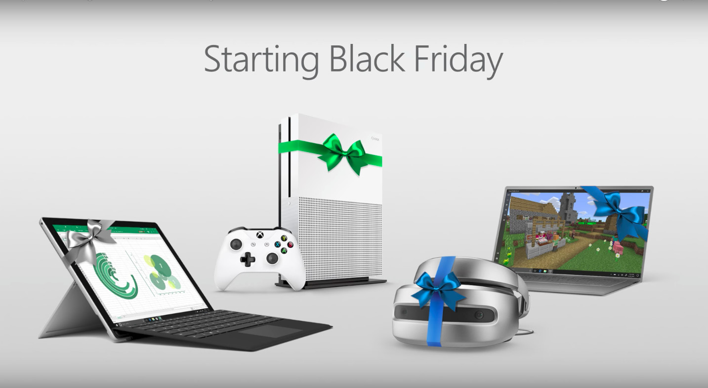 Microsoft Black Friday deals: Save on Xbox, Surface and laptops