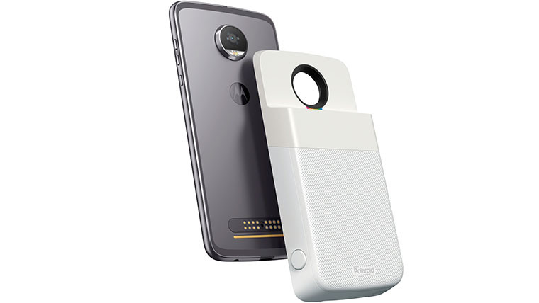 Motorola's latest Moto Mod is a $200 Polaroid photo printer
