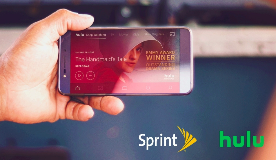Sprint will start offering Hulu to its Unlimited Freedom customers
