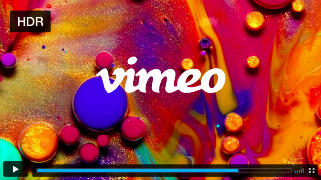 Vimeo Gets Support For HDR Videos