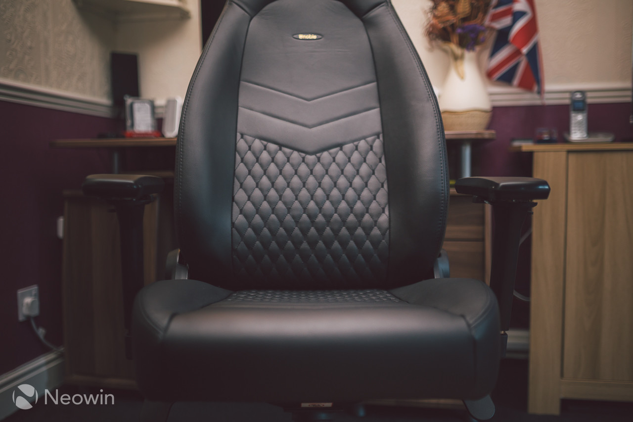 Noblechairs Icon Top Grain Leather Gaming Chair Review Neowin