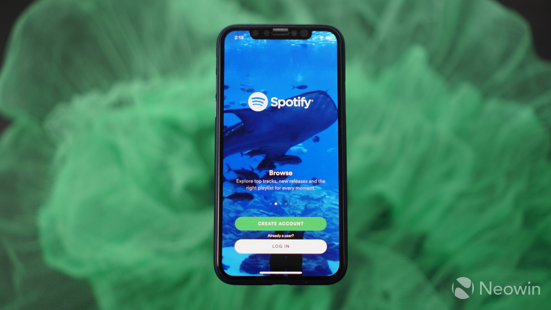 Spotify update adds support for iPhone X display - Neowin