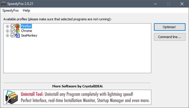 SpeedyFox 2 0 23 Build 128 - Neowin