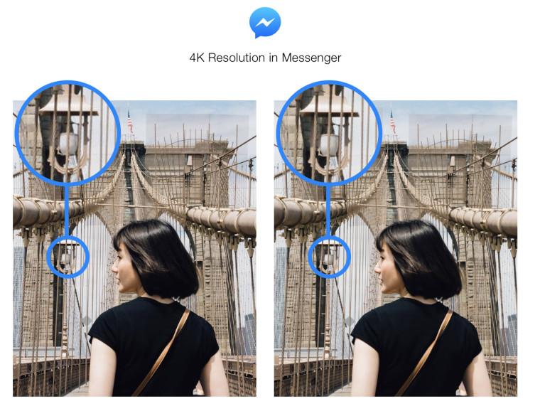 Facebook MessengerAkan Memungkinkan Anda Kirim Foto 4K