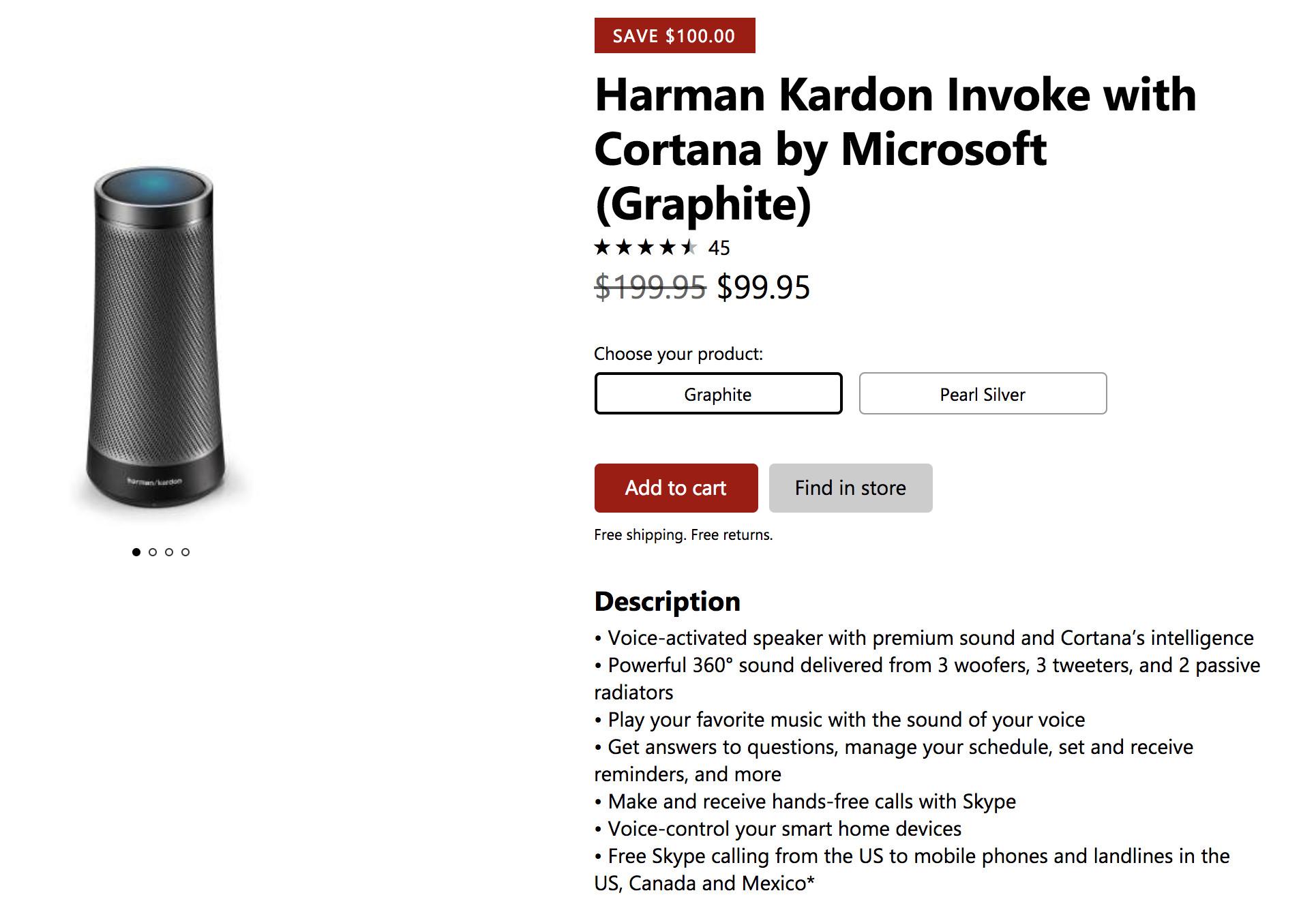 harman kardon invoke price. it didn\u0027t take long for the harmon kardon invoke to get discounted. while debuted at $199.95, price has now been slashed in half black friday harman e