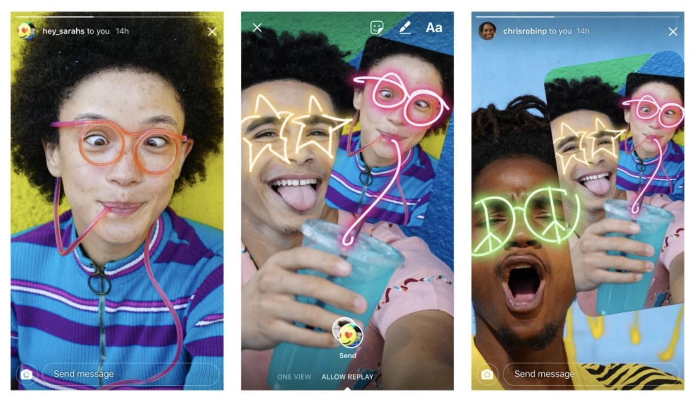 Instagram rolls out Remix feature, letting you draw on friends' photos