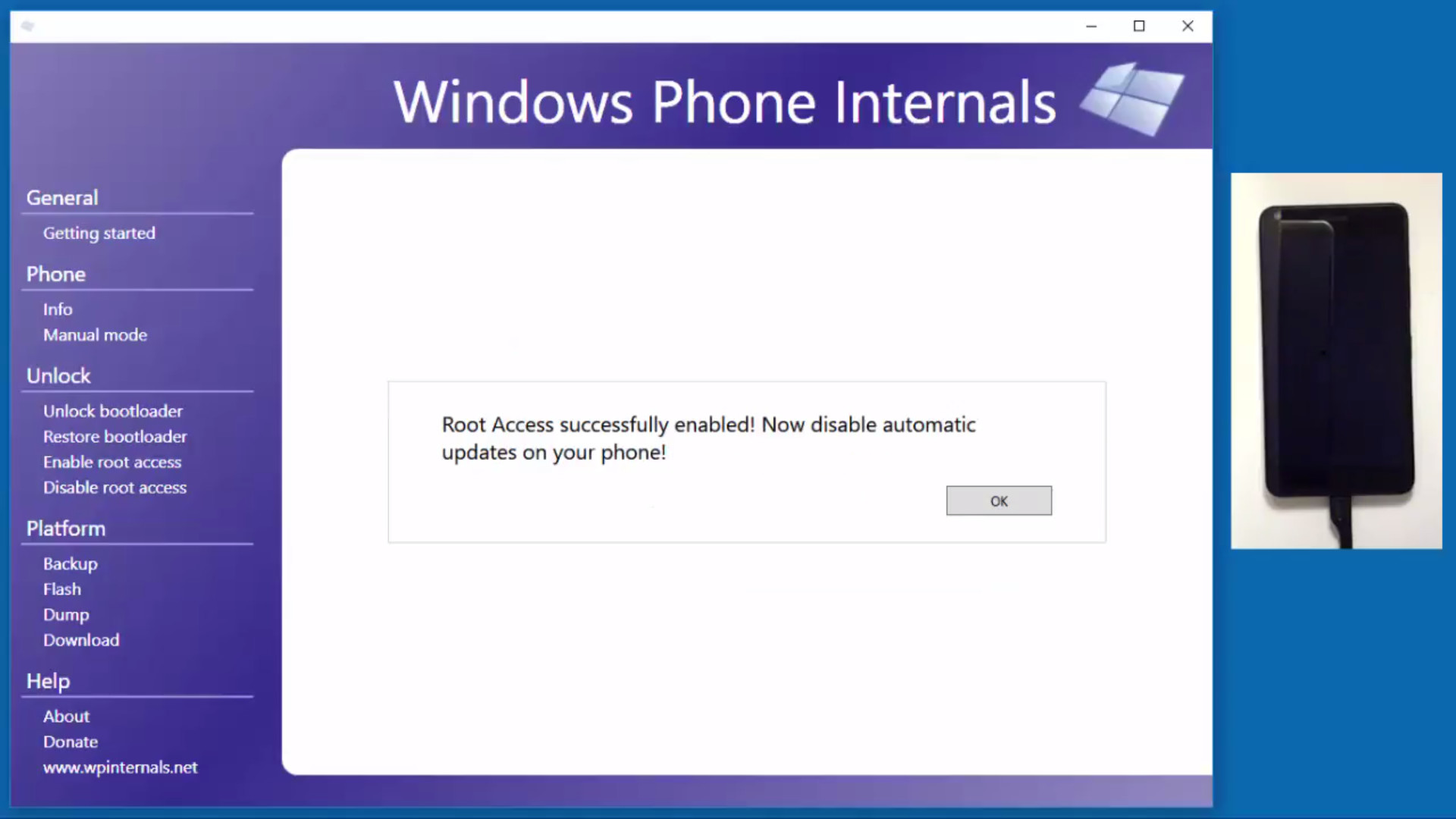 Windows Phone Internals allow for installation of custom ROMs on any