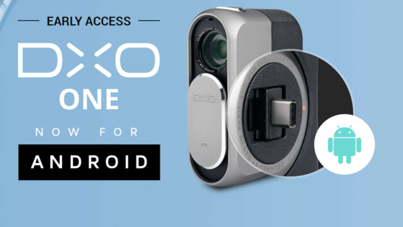 DxO One Android Camera Now Available For $499