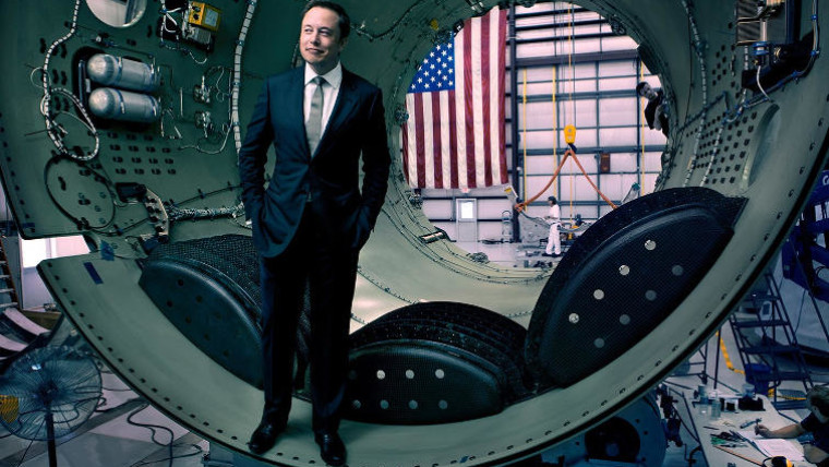 Musk to send auto into space