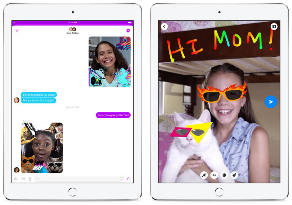 Facebook targets 6- to 12-year-old demographic with new Messenger app