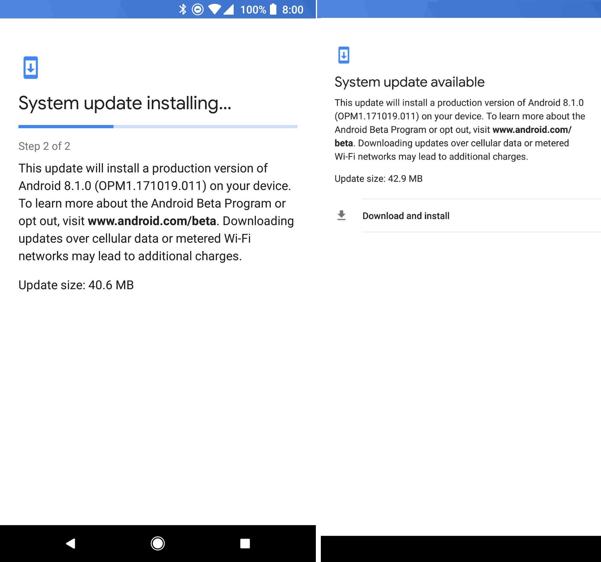 Android 8.1 OTA adds HD Voice Calling for Pixel 2 XL devices on ...
