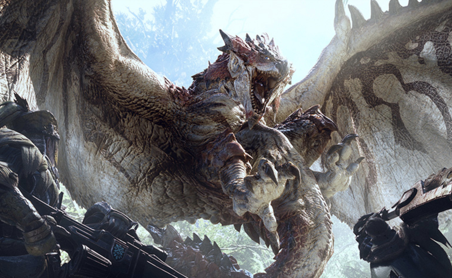 You can now pre-load this weekend's Monster Hunter