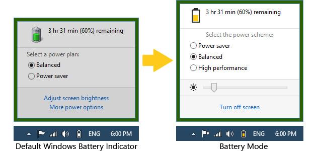 Battery Mode