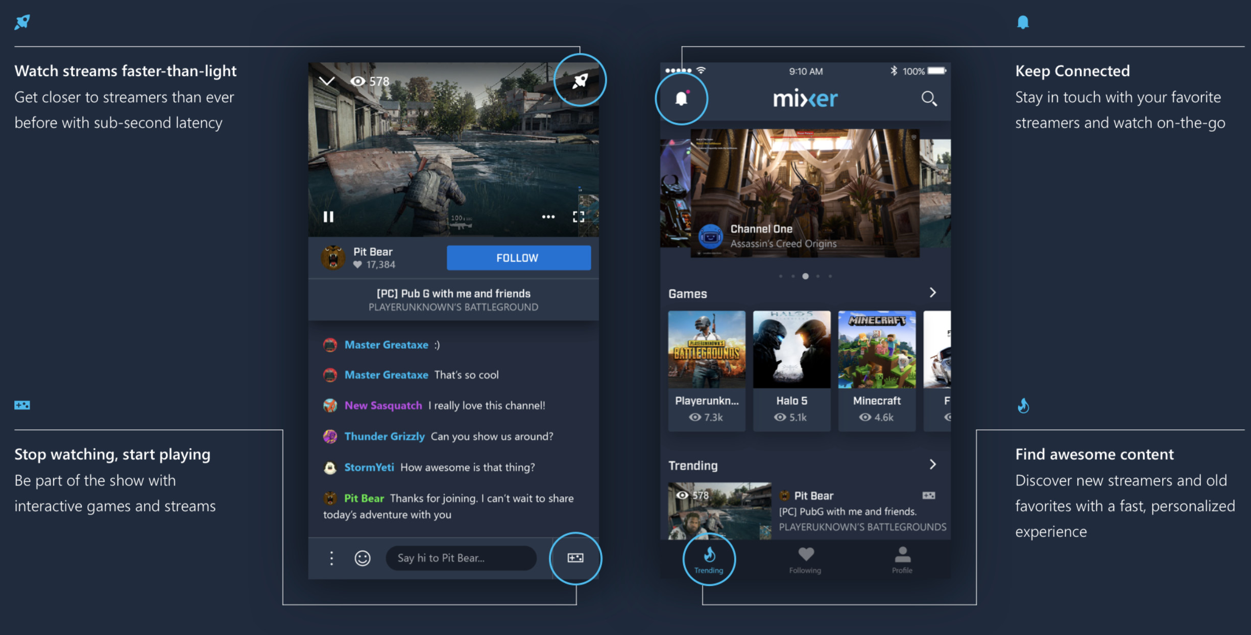Microsoft's redesigned Mixer app comes out of beta, available for