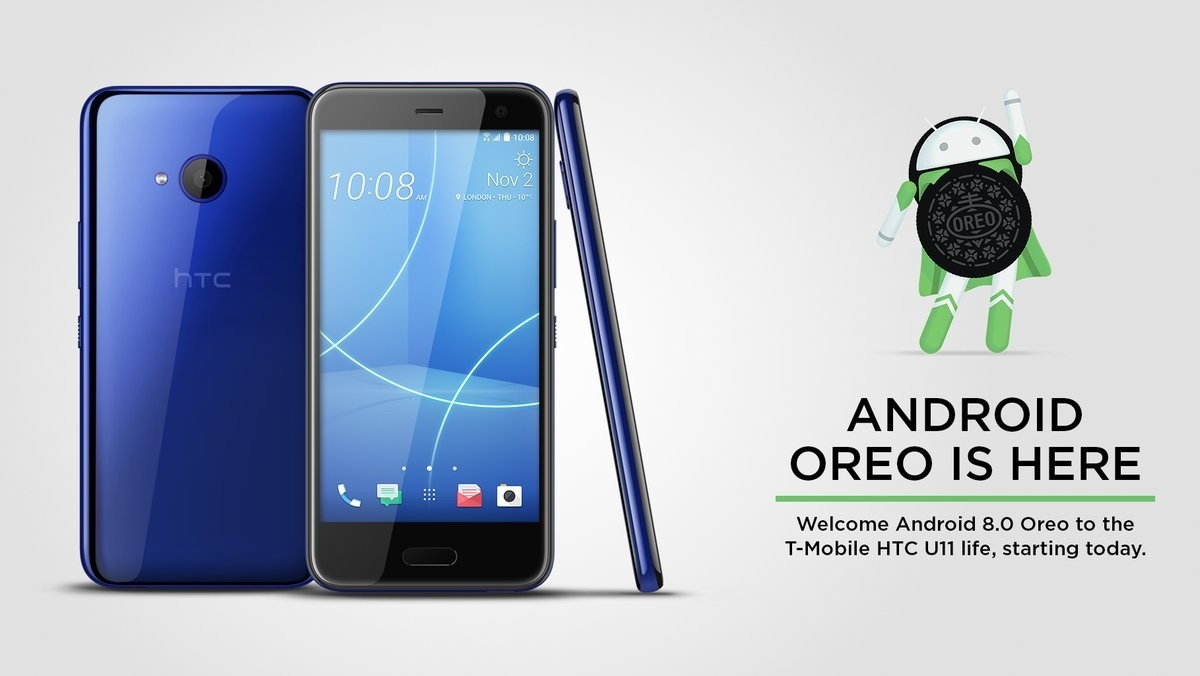 HTC releases Android 8.0 Oreo update for the T-Mobile U11 Life
