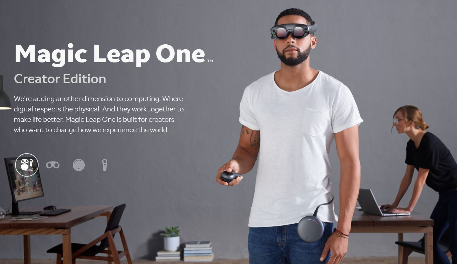Magic Leap shows off AR headset that ships in 2018