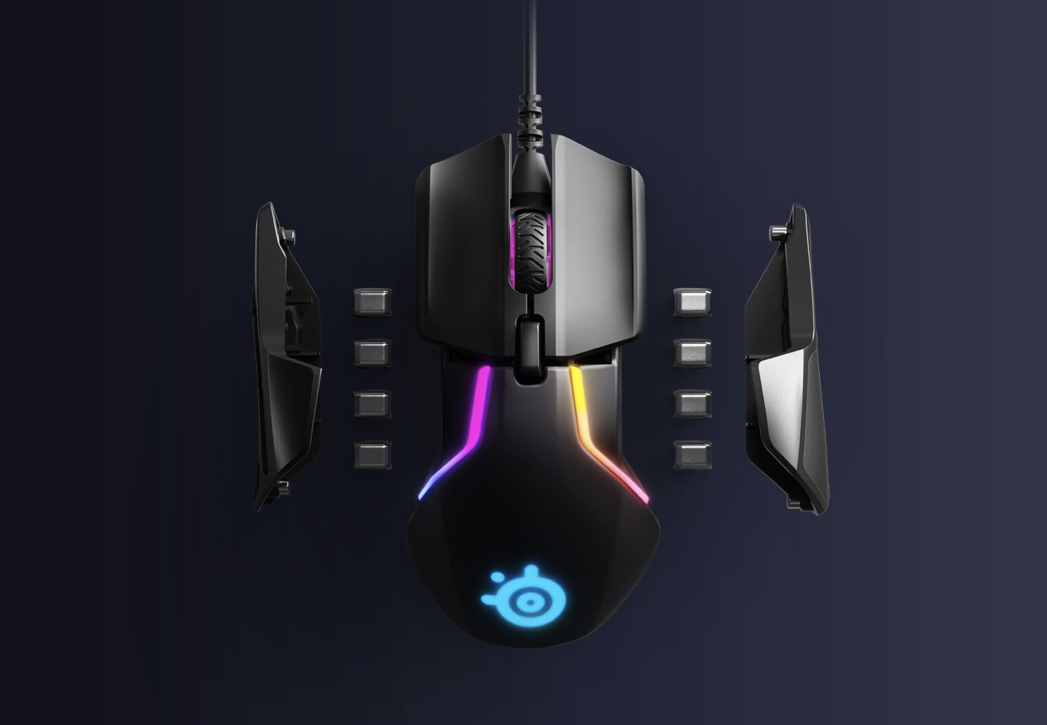 SteelSeries Launches New TrueMove3+ dual sensor setup For Competitive Gamers